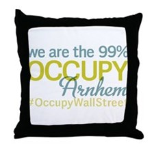 Occupy Arnhem Throw Pillow