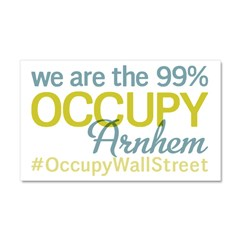 Occupy Arnhem Car Magnet 20 x 12