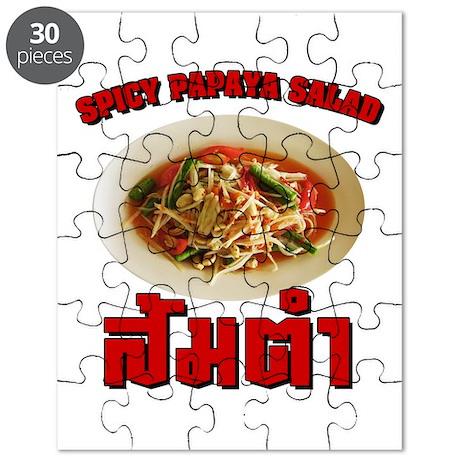 Spicy Papaya Salad (Som Tam) Puzzle