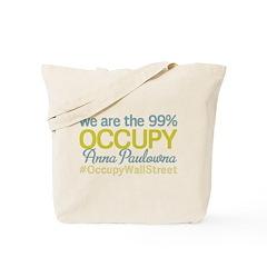 Occupy Anna Paulowna Tote Bag