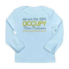 Occupy Anna Paulowna Long Sleeve Infant T-Shirt