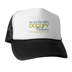 Occupy Ankara Trucker Hat