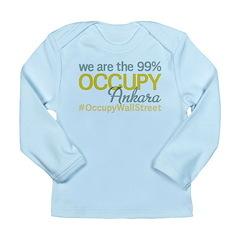 Occupy Ankara Long Sleeve Infant T-Shirt