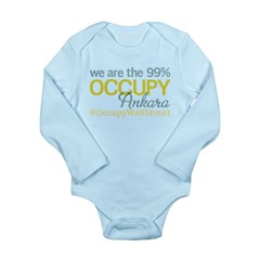 Occupy Ankara Long Sleeve Infant Bodysuit