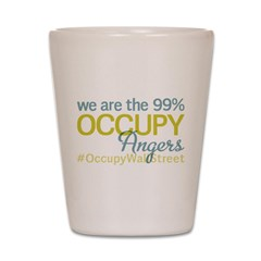 Occupy Angers Shot Glass