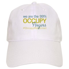 Occupy Angers Baseball Cap