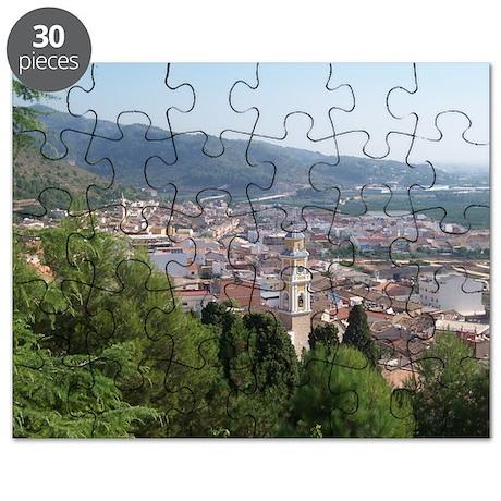 Mountain Village Puzzle