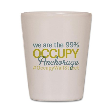 Occupy Anchorage Shot Glass