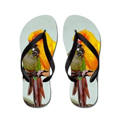 Bird Photo Flip Flops