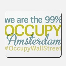 Occupy Amsterdam Mousepad