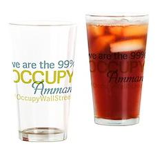 Occupy Amman Drinking Glass