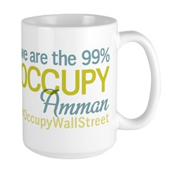 Occupy Amman Large Mug