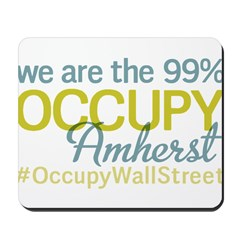 Occupy Amherst Mousepad