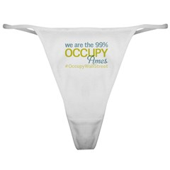 Occupy Ames Classic Thong