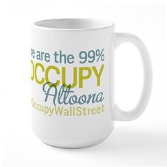 Occupy Altoona Large Mug