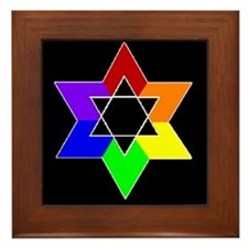 Rainbow Jew #1A & #1B - Framed Tile
