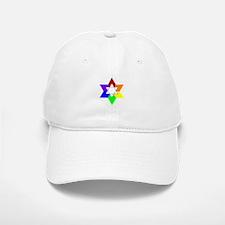Rainbow Jew #1A & #1B - Baseball Baseball Cap