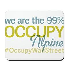 Occupy Alpine Mousepad