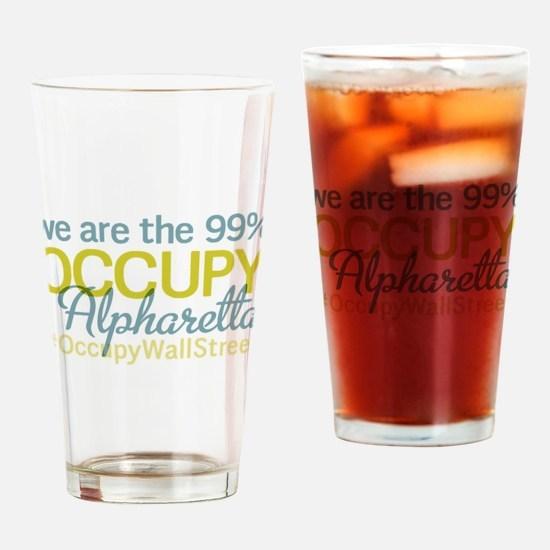 Occupy Alpharetta Drinking Glass