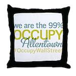 Occupy Allentown Throw Pillow