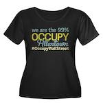 Occupy Allentown Women's Plus Size Scoop Neck Dark