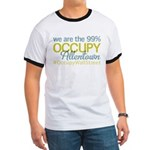 Occupy Allentown Ringer T