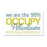 Occupy Allentown Car Magnet 20 x 12