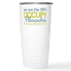 Occupy Alexandria Travel Mug