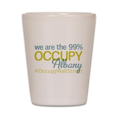 Occupy Albany Shot Glass
