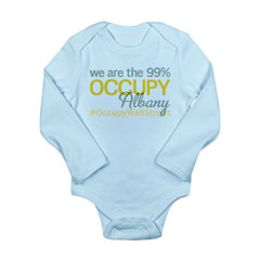 Occupy Albany Long Sleeve Infant Bodysuit