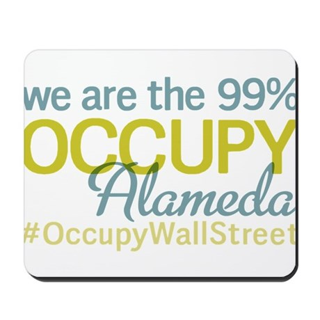 Occupy Alameda Mousepad