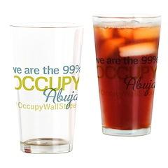 Occupy Abuja Drinking Glass