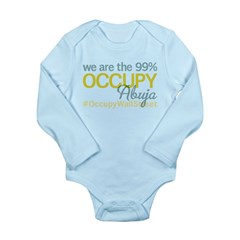Occupy Abuja Long Sleeve Infant Bodysuit