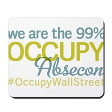 Occupy Absecon Mousepad