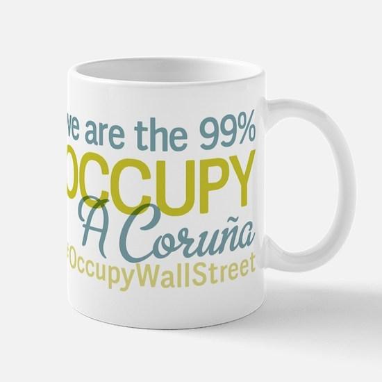 Occupy A Coru?a Mug
