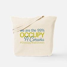 Occupy A Coru?a Tote Bag