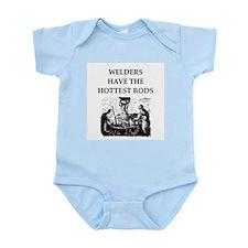 welders joke Infant Bodysuit
