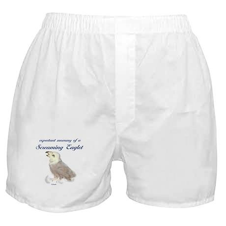 Expectant Eaglet Mommy Boxer Shorts