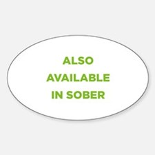 Also Available in Sober Decal