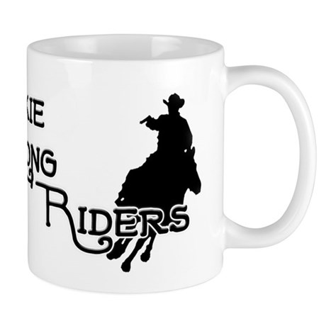 DixieLongRiders_logo2_BW Mugs