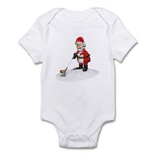 Golfing Santa Claus Infant Bodysuit