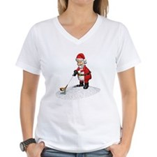 Golfing Santa Claus Shirt