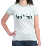 Geek Not Freak Jr. Ringer T-Shirt