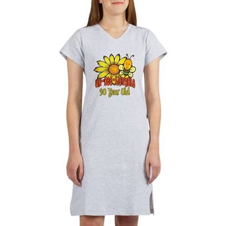 Un-Bee-Lievable 90th Women's Nightshirt
