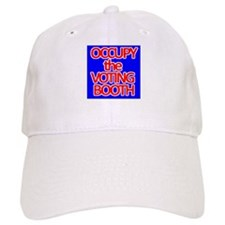 Occupy the Voting Booth Baseball Cap