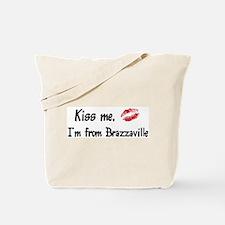 Kiss Me: Brazzaville Tote Bag