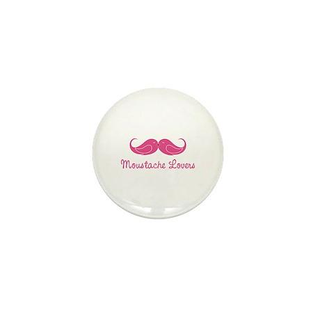 Moustache Lovers Mini Button (100 pack)
