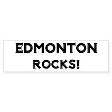 Edmonton Rocks! Bumper Bumper Sticker