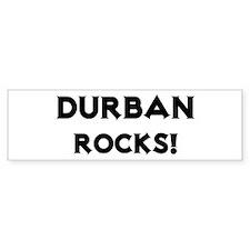 Durban Rocks! Bumper Bumper Sticker