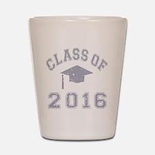 Class Of 2016 Graduation Shot Glass